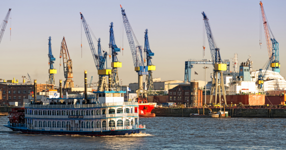 Picture no: 11464356  Hamburger Hafen Panorama Created by: Nordbilder
