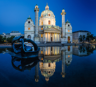 Picture no: 11465486 Wien - Karlskirche Panorama  Created by: Jean Claude Castor