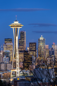 Picture no: 11474405 Seattle Skyline at Twilight Created by: TomKli