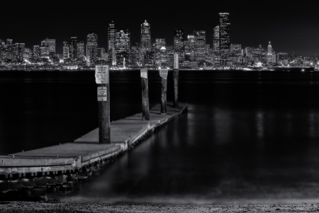 Picture no: 11477897 Seattle Skyline at Night Created by: TomKli