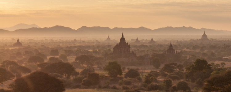 Picture no: 11489439 Bagan Panorama Created by: waveland