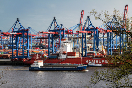 Picture no: 11492103 Containerhafen Hamburg Created by: birdy