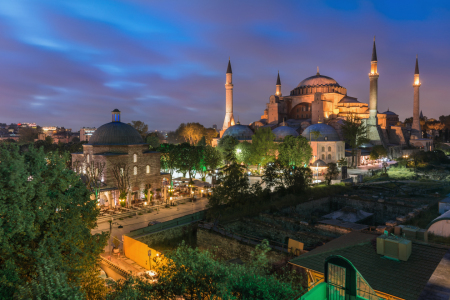 Picture no: 11498300 Istanbul - Hagia Sofia bei Nacht Created by: Jean Claude Castor