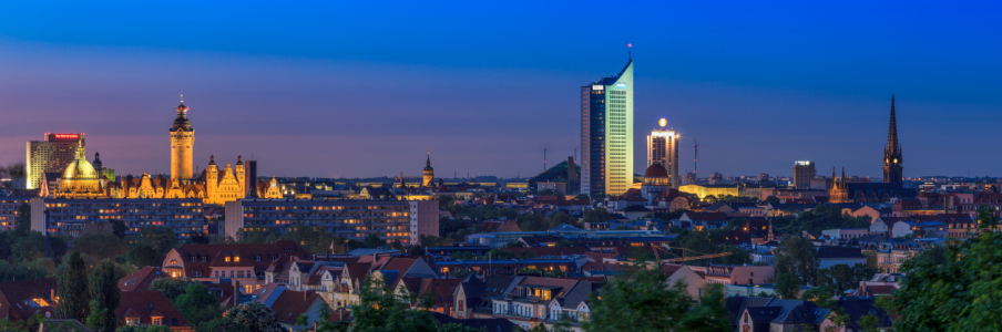 Picture no: 11501333 Skyline von Leipzig Created by: frank-wassewitz