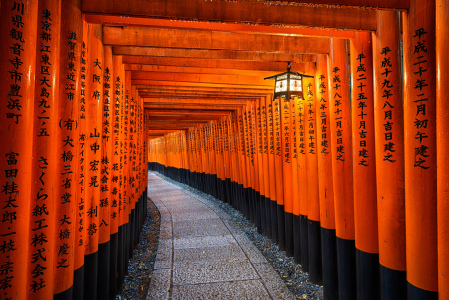 Picture no: 11501632 Fushimi Inari Schrein in Kyoto Created by: Mapics