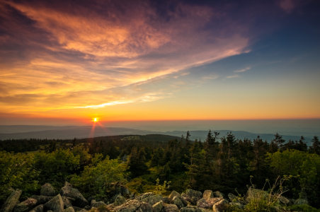Picture no: 11516028 Brocken und der Sonnenuntergang Created by: Steffen Henze