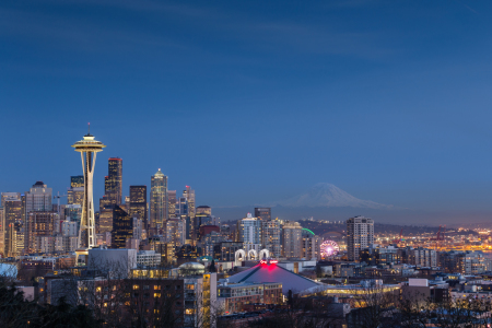 Picture no: 11523621 Seattle Skyline at Night Created by: TomKli
