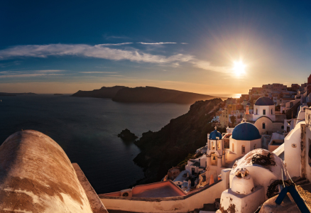 Picture no: 11527968 Santorini - Caldera Sunset in Oia Created by: Jean Claude Castor