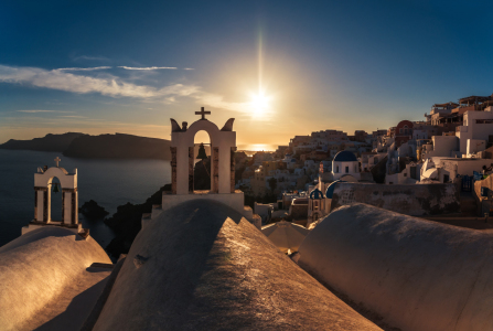 Picture no: 11529474 Santorini - Caldera Sunset in Oia Created by: Jean Claude Castor