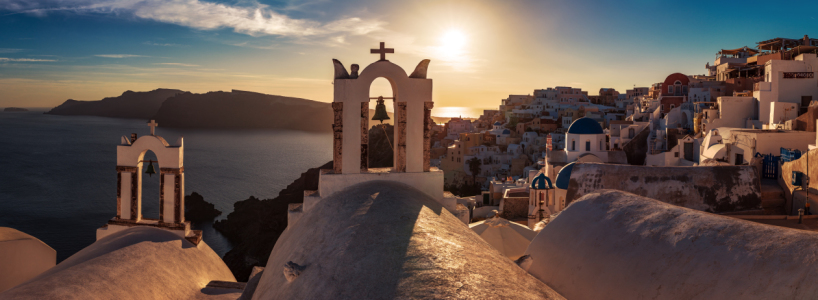 Picture no: 11529478 Santorini - Oia Sunset Panorama Created by: Jean Claude Castor