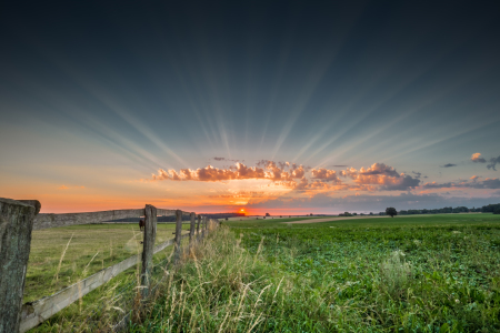 Picture no: 11554258 Sonnenstrahlenuntergang Created by: PhotoArt-Hartmann