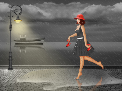 Picture no: 11555204 Dancing in the rain Created by: Mausopardia