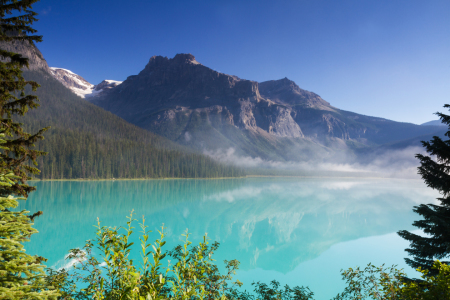 Picture no: 11564386 Emerald Lake im Morgenlicht Created by: Circumnavigation