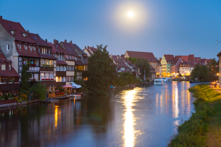 Picture no: 11566262 Bamberg bei Vollmond Created by: janschuler