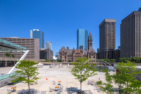 Picture no: 11571728 TORONTO 09 - Nathan Phillips Square Created by: Tom Uhlenberg