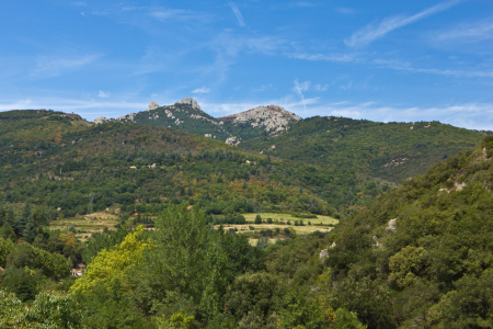 Picture no: 11581314 Landschaft bei Olargues Created by: Anja Ergler