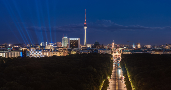 Picture no: 11588237 Berlin - Skyline Panorama Tiergarten  Created by: Jean Claude Castor
