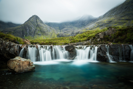 Picture no: 11598500 The Fairy Pools, Glen Brittle, Skye, Schottland Created by: orxy
