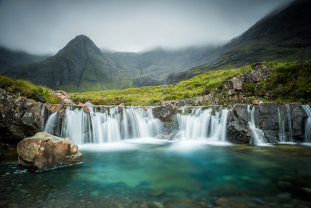 Picture no: 11598504 The Fairy Pools, Glen Brittle, Skye, Schottland Created by: orxy