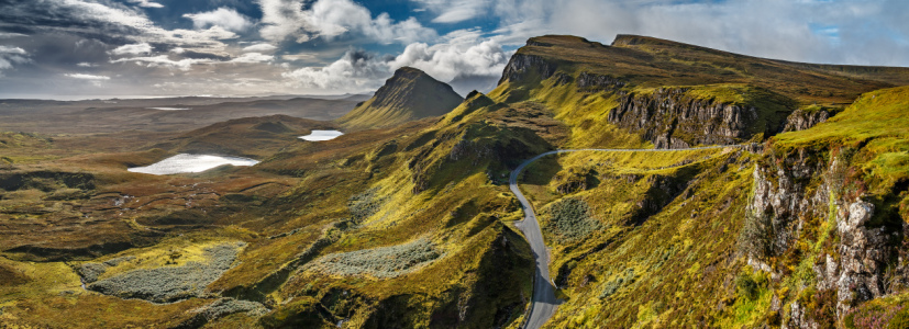 Picture no: 11601010 Quiraing isle of Skye II Created by: Thomas Gerber