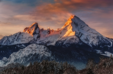 Picture no: 11603188 Watzmann at Sunrise  Created by: Dieter Dieter Meyrl