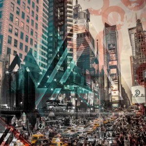 Picture no: 11613989 New York City - Geometric Mix No 4 Created by: Melanie Viola