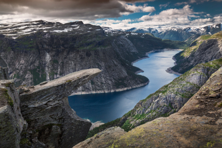 Picture no: 11621479 Felsvorsprung Trolltunga Norwegen Created by: BastianLinder