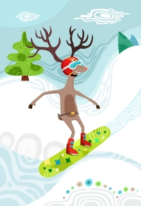 Picture no: 11630831 snowboard Created by: Ganna Dik