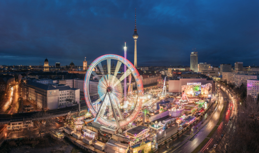 Picture no: 11634889 Berlin - Weihnachstmarkt am Alexanderplatz Panorama Created by: Jean Claude Castor
