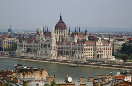 Picture no: 11635595 Budapest von oben Created by: Metalmaus