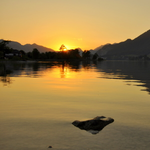 Picture no: 11637145 Abendstimmung am Wolfgangsee Created by: GUGIGEI