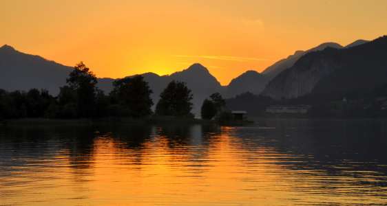 Picture no: 11637147 Abendstimmung am Wolfgangsee Created by: GUGIGEI
