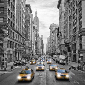 Picture no: 11645988 5th Avenue NYC Verkehr  Created by: Melanie Viola