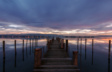 Picture no: 11657916 Blaue Stunde am Bodensee Created by: Achim Thomae