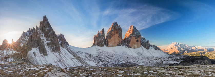 Picture no: 11665670 Tre Cime of the Dolomites Created by: Dieter Meyrl