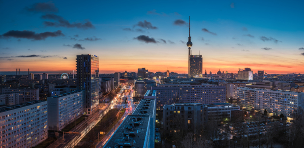 Picture no: 11673104 Berlin - Skyline im Winter Created by: Jean Claude Castor