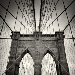 Picture no: 11675220 New York - Brooklyn Bridge --Analoge Fotografie-- Created by: AlexanderVoss