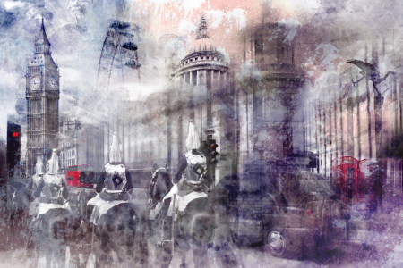 Picture no: 11682224 Digital Art LONDON Composing II Created by: Melanie Viola