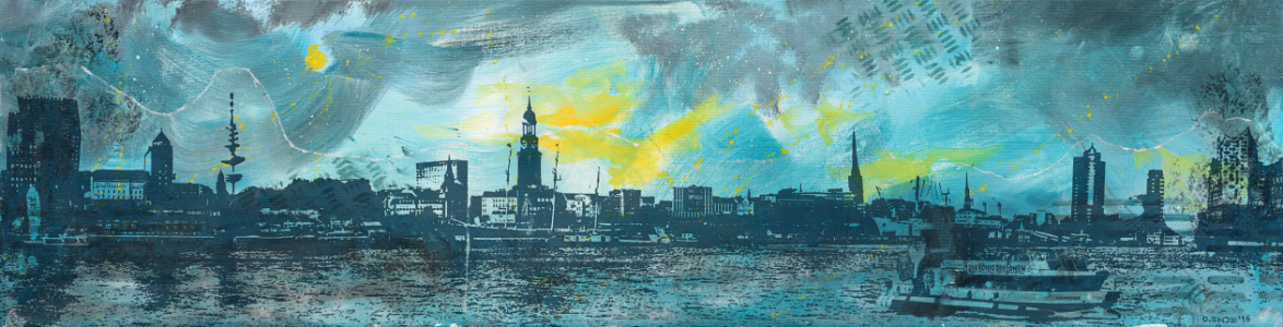 Picture no: 11686212 Hamburgensien 2.0 - Skyline Created by: Oliver Ende