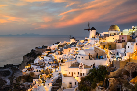 Picture no: 11703954 Sonnenuntergang in Santorin Created by: Mapics