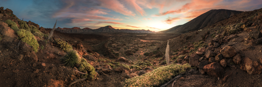 Picture no: 11704110 Teneriffa - Pico del Teide Sunset Panorama Created by: Jean Claude Castor
