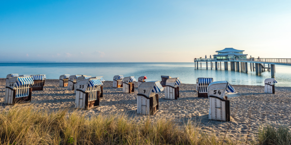 Picture no: 11705986 Strandkörbe Timmendorfer Strand, Ostsee Created by: Benno Hoff