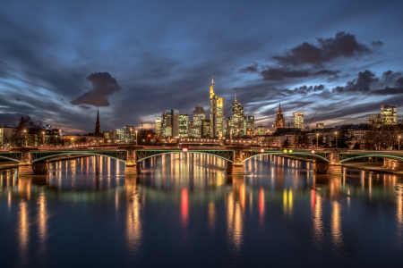Picture no: 11707218 Skyline Frankfurt Created by: Achim Thomae