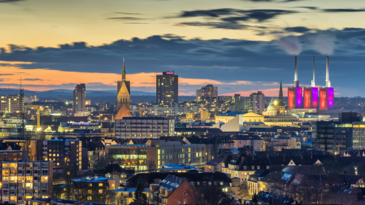 Picture no: 11710542 Hannover am Abend Created by: panoramarx-de