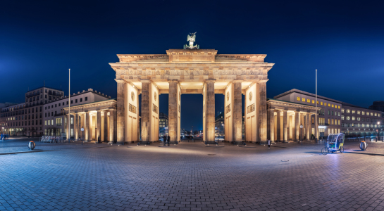 Picture no: 11714352 Berlin - Brandenburger Tor Rückseite Panorama Created by: Jean Claude Castor