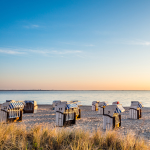 Picture no: 11719486 Strandkörbe Timmendorfer Strand, Ostsee Created by: Benno Hoff