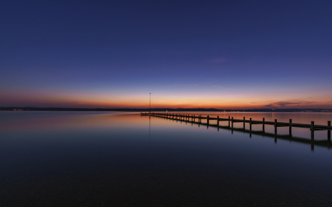 Picture no: 11721836 Blue Hour - Starnberger See Created by: Achim Thomae
