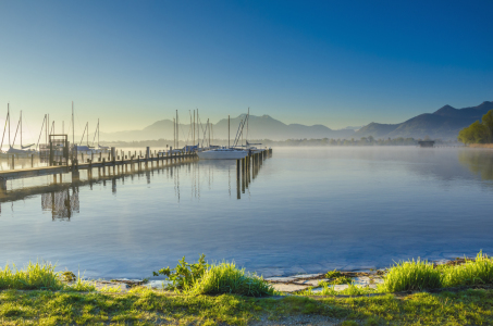 Picture no: 11741604 Der Chiemsee im Morgenlicht Created by: Joachim Hertwig