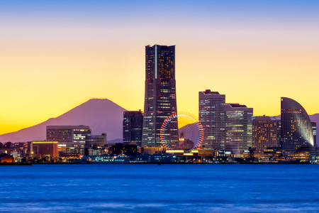 Picture no: 11756958 Yokohama skyline Japan Created by: eyetronic