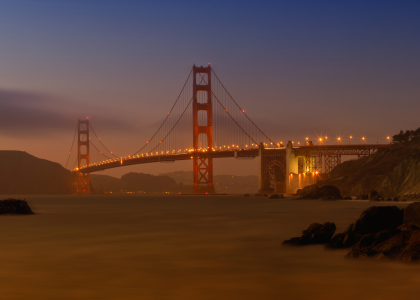 Picture no: 11757064 Golden Gate Bridge Sunset Created by: Melanie Viola